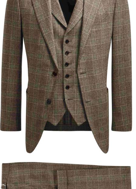 Suitsupply JORT Brown Checkered Suit - AED 3855 AED.jpg
