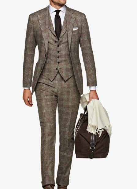 thumbnail_Suitsupply JORT Brown Checkered Suit - Model.jpg