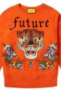 SWEATSHIRT WITH TRIM DETAIL TIGER PRINT ON BACK FUTURE PRINT ON FRONT.JPG