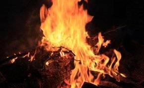 بالفيديو .. دمار بيت في السعودية وحرق شجرة بسبب صاعقة!