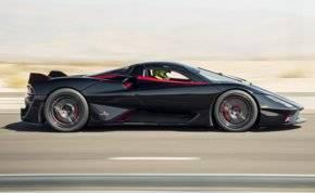 شاهد.. أداء أسرع سيارة في العالم