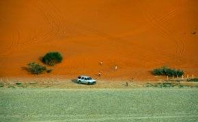 """لرحلة شتوية مثيرة.. إليك """"بحيرة الخرارة"""" الساحرة في الرياض"""