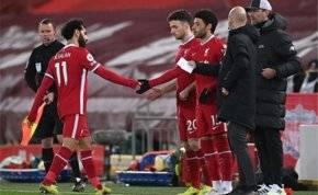 محمد صلاح يتلقى إشارة النهاية في ليفربول