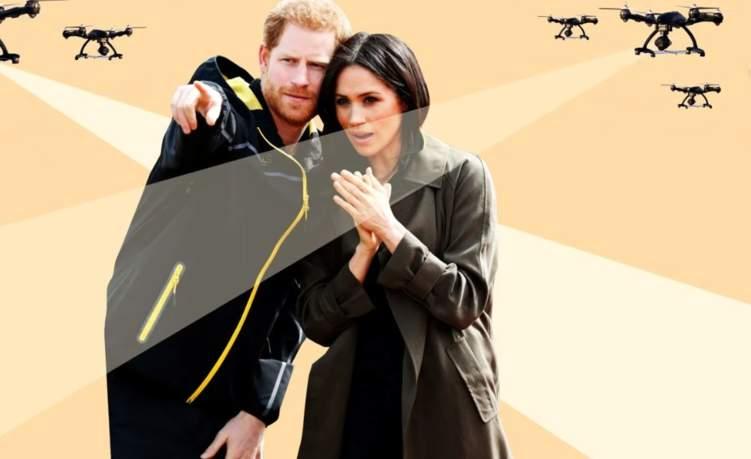 ما حكاية الطائرات التي تحلق فوق منزل هاري وميغان؟