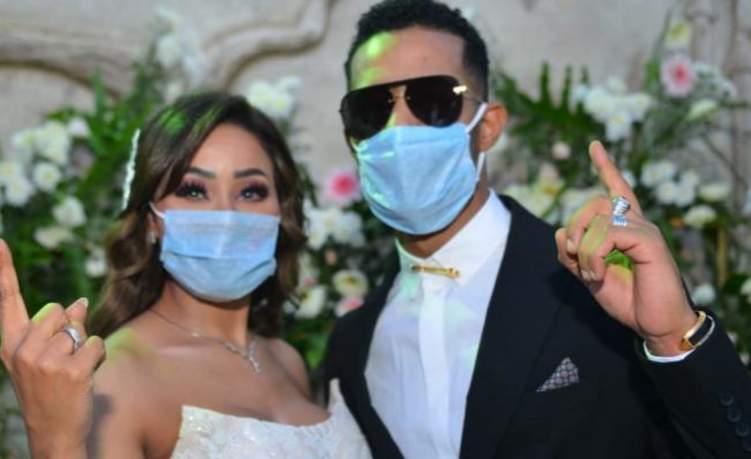 الشرطة تباغت حفل زفاف شقيقة محمد رمضان