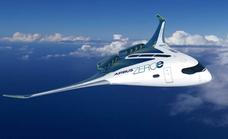أول طائرة بثلاثة نماذج خالية من الانبعاثات في العالم (صور)