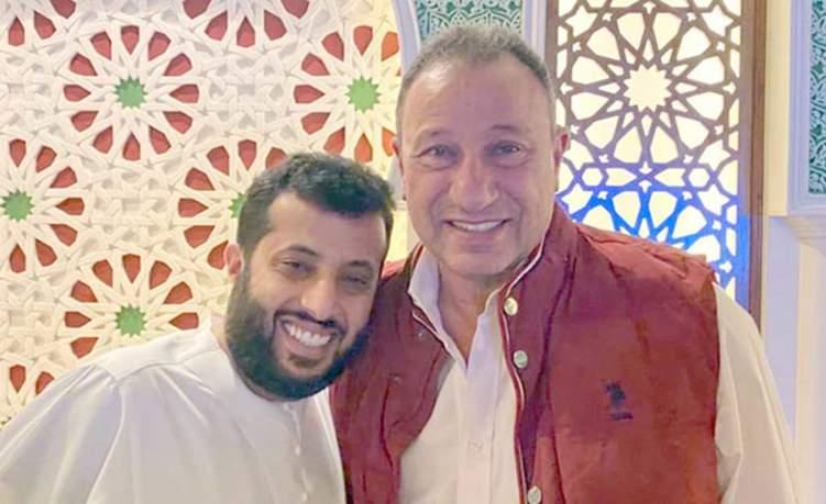 تركي آل الشيخ يحتفي بفوز الأهلي على طريقته الخاصة!