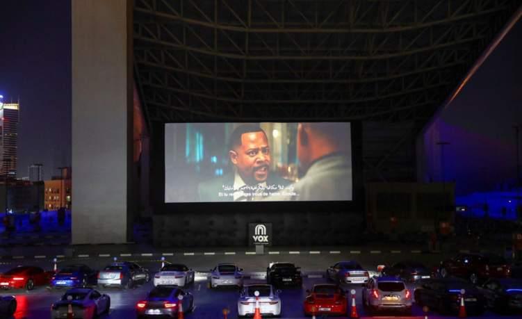 افتتاح أول سينما للسيارات في الرياض