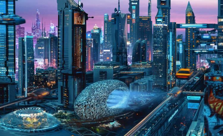 هكذا ستبدو مدينة دبي بحلول عام 2075 (صور)