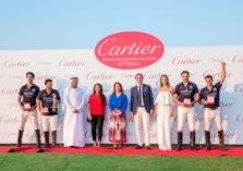 """بالصور...فوز فريق زيدان ببطولة """"تحدي كارتييه دبي الدولية للبولو"""""""