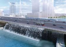 تدشين قناة دبي المائية بتكلفة 735 مليون دولار