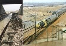 كارثة انقلاب قطار الدمام بين السيول و الاهمال