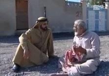 فيديو: رجل مسنّ لم يعرف أن الذي يجلس بجانبه هو حاكم دبي...شاهد صدمته!