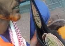 لن تتخيل ما جمعه متسول خلال 3ساعات في شوارع السعودية