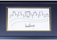 """لوحة """"ترامب"""" بمزاد علني وبقيمة 9 آلاف دولار"""