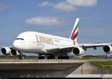 أضخم طائرة إماراتية في العالم تنزلق أثناء هبوطها في مطار بألمانيا (فيديو)