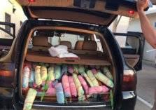 ضبط سيارة بورش بها يمني وفتاتين حاولوا تهريب القات جنوب القنفذة (صور)