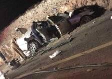 بسبب الجمال السائبة. . وفاة رجل وطفلة وإصابة امرأة في حادث سيارة بالمدينة