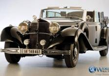 سيارة كانت مملوكة لهتلر معروضة للبيع بمزاد علني (صور)