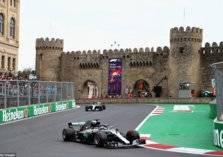 بالصور.. أحداث مجنونة في سباق جائزة أذربيجان للفورمولا1