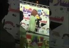 إعادة واقعة فتاة سوق عكاظ مع ماجد المهندس بالمدينة المنورة في مشهد مثير للجدل (فيديو)