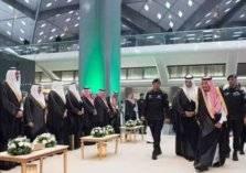 فيديو: خادم الحرمين يفتتح مشروع قطار الحرمين السريع
