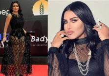 """أحلام تعلق على فستان رانيا يوسف """"الفاضح"""".. ماذا قالت؟"""