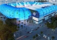 بالصور.. مباراة عالمية في افتتاح استاد آل مكتوم