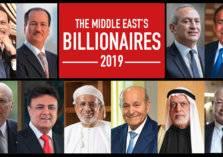 هيمنة إماراتية على قائمة أثرياء الشرق الأوسط لعام 2019