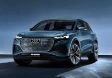 أودي تكشف عن السيارة الكهربائية Q4 e-tron concept الاختبارية بمعرض جنيف (صور)