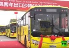 السعودية تستعد لاستقبال 600 حافلة نقل عام من الصين (فيديو)