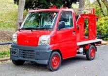 ميتسوبيشي تكشف عن أصغر سيارة إطفاء في العالم (صور وفيديو)