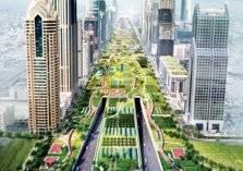 دبي تحتضن أطول منتزه زراعي في العالم