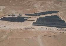 الفلسطينيون يشيدون أكبر محطة للطاقة الشمسية في أخفض بقاع العالم