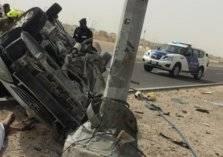 مصرع 3 أطفال إماراتيين في حادث تصادم شنيع بأبوظبي