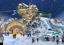 قريباً.. إفتتاح أكبر حديقة ثلجية مغطاه في العالم بهذه المدينة العربية