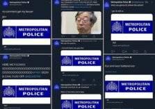 """شتائم بذيئة وسخرية على """"تويتر"""" شرطة لندن"""