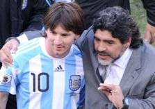 """مارادونا لـ ميسي """"أنت مارادوني متمرد""""!"""