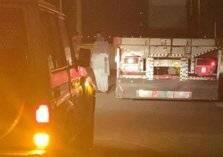 مرور محافظة جدة يقبض على قائد شاحنة بعد ما فعله بأحد شوارع المملكة (صور)
