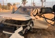 نجم منتخب مصر السابق يتعرض لحادث مروري مروع (صور)