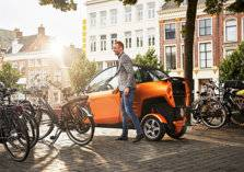 بالصور- شركة كارفر الهولندية تزيح الستار عن سكوتر كهربائي بثلاث عجلات.. والسعر؟