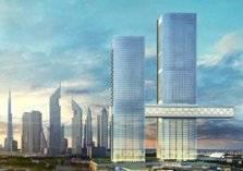 دبي تحتضن أكبر المباني المعلّقة في العالم