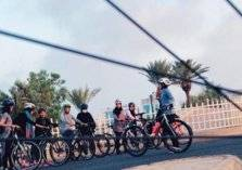 فريق Brave Cyclist النسائي يقطع مسافة ١٠٠كيلومتر بالدراجات في جدة (فيديو وصور)