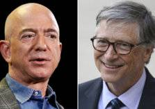 بيل غيتس يطيح بمؤسس أمازون وينال لقب أغنى رجل في العالم