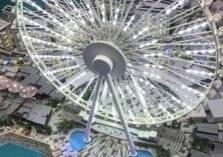 في دبي.. أطول عجلة ترفيهية في العالم من قمرات طائرات حربية