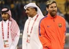 حافلة برشلونة تضل طريقها في السعودية