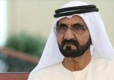 شاهد .. حاكم دبي يساعد متسابقة تعرضت لإصابة