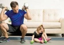 تمارين رياضية يمكن ممارستها من المنزل