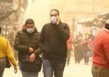 هل العواصف الترابية تقتل الفيروسات؟