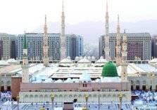 بالصور: أول صلاة قيام في المسجد النبوي لرمضان 2020